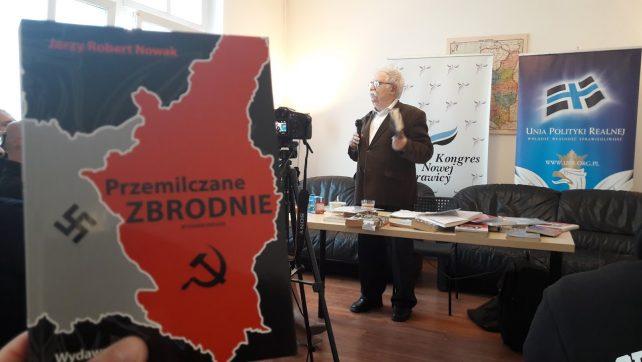 O stosunkach Polsko Żydowskich w Katowickiej siedzibie KNP