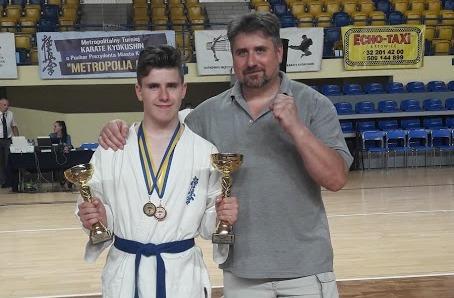 2 medale Konrada na Metropolia Cup