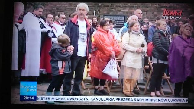 Uroczystości ku czci św Maksymiliana w Oświęcimiu